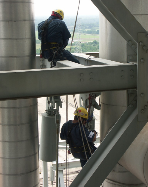 Rope Access Services allows for Up Close & Personal