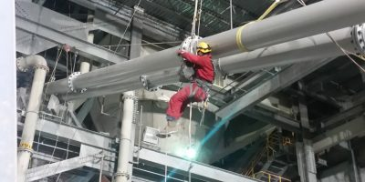 Talen Energy successfully uses MHT's rope access services