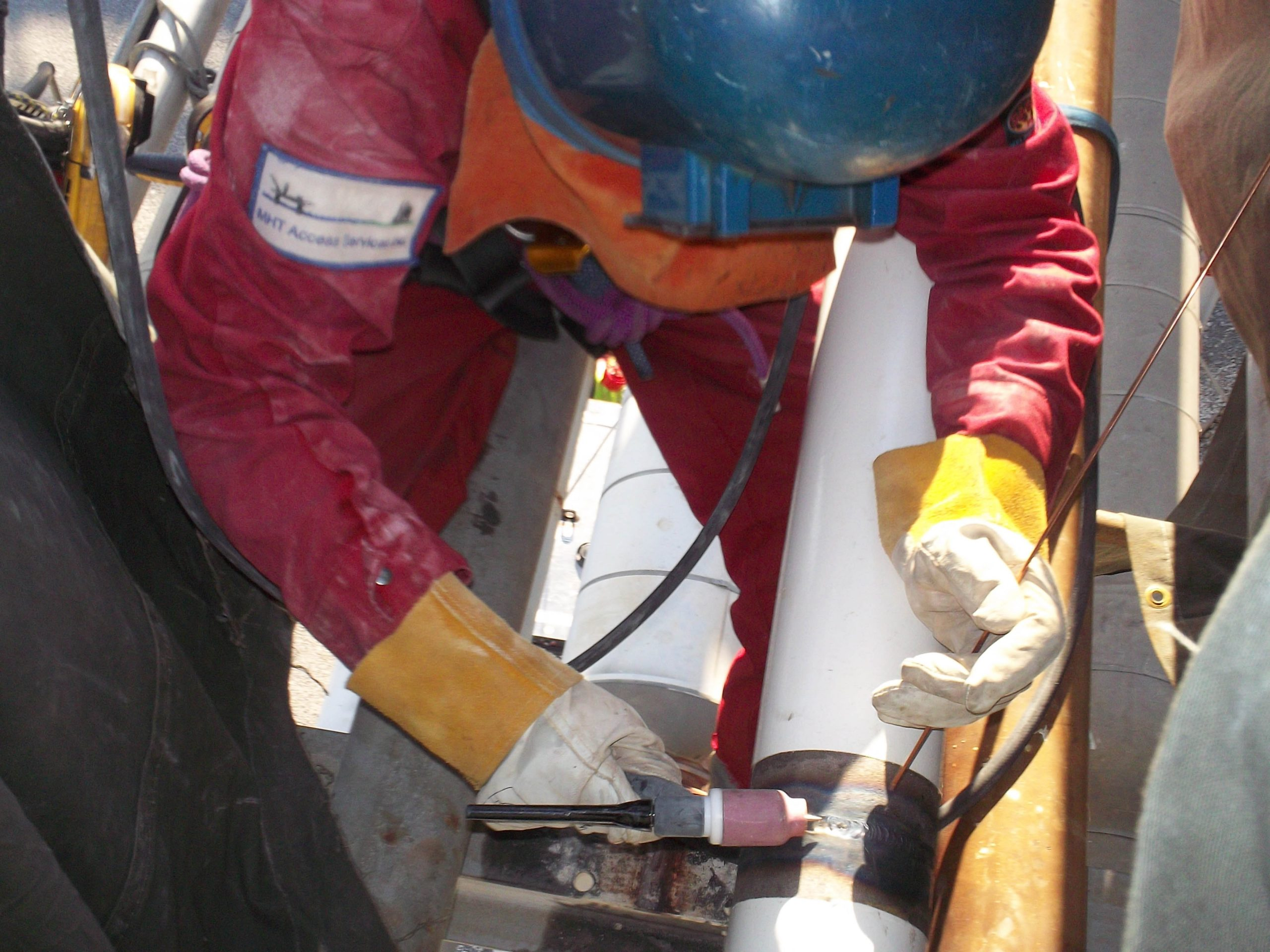 Rope access repair creates added value, synergy